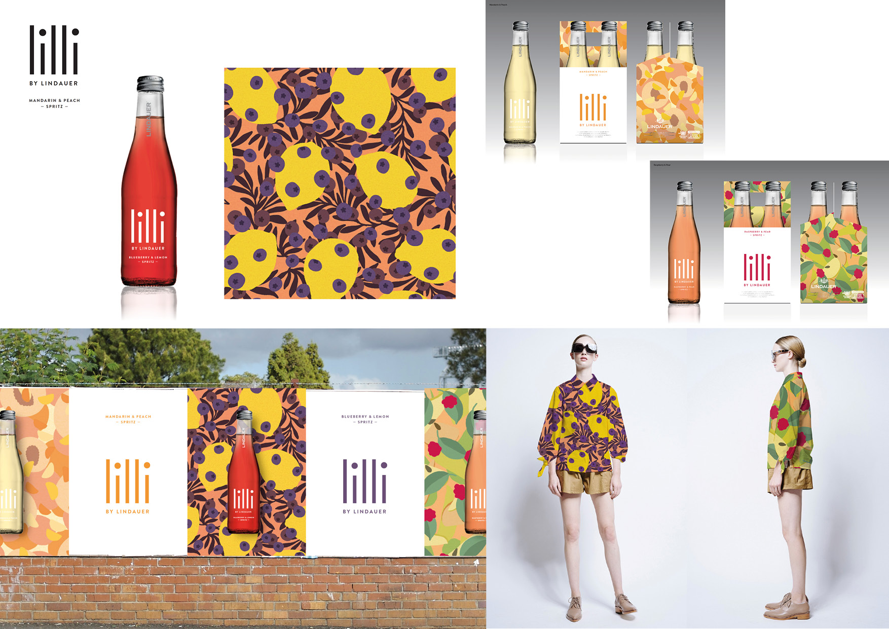 Lilli Spritz by Lindauer Anna Niestroj - Monster Patterns Pattern Design Studio Berlin Germany Deutschland Muster Design